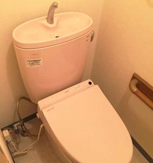 トイレの場合 全体の写真